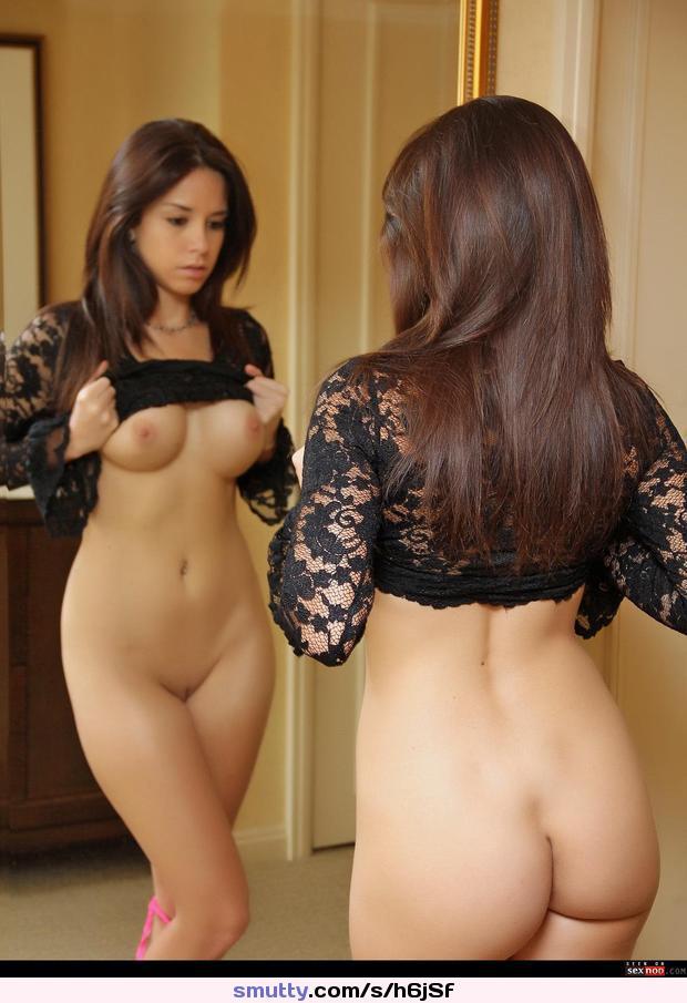 Hot girls in mirror